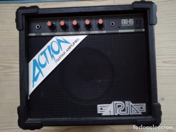 AMPLIFICADOR DE GUITARRA - ARIA AG-15 GUITAR AMPLIFIER - 30X33 (Radios, Gramófonos, Grabadoras y Otros - Amplificadores y Micrófonos de Válvulas)