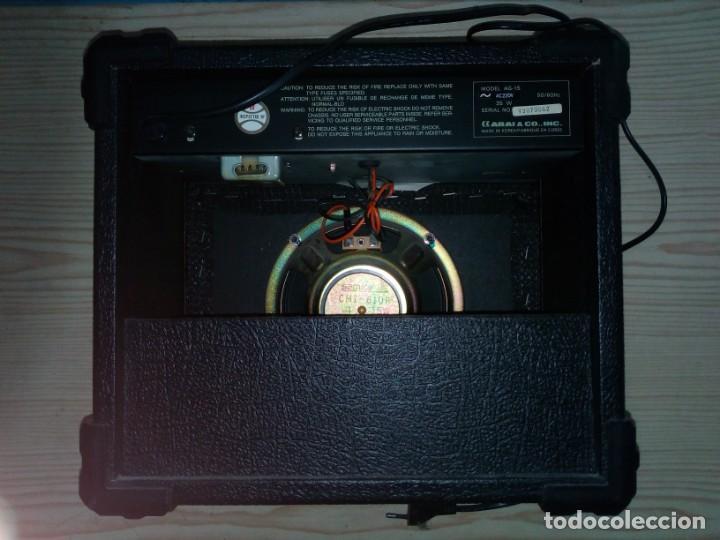 Radios antiguas: Amplificador De Guitarra - ARIA AG-15 Guitar Amplifier - 30x33 - Foto 2 - 141140530