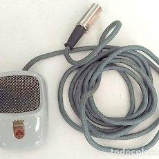 Radios antiguas: ANTIGUO MICRÓFONO DE MARCA GRUNDIG. Lote 142044982