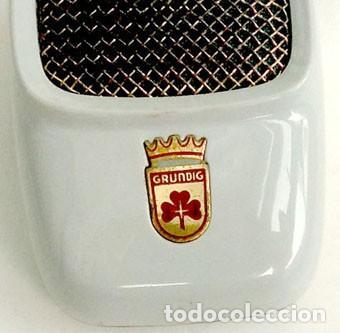 Radios antiguas: ANTIGUO MICRÓFONO DE MARCA GRUNDIG - Foto 3 - 142044982