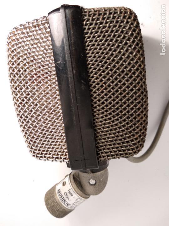 AKG D12 MICRÓFONO ANTIGUO DE ESTUDIO FUNCIONANDO (Radios, Gramófonos, Grabadoras y Otros - Amplificadores y Micrófonos de Válvulas)
