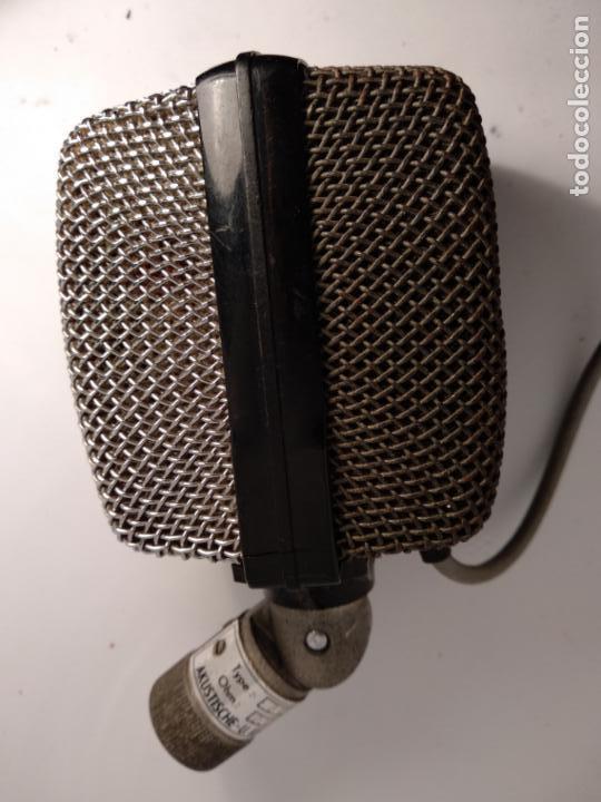 Radios antiguas: Akg D12 micrófono antiguo de estudio funcionando - Foto 4 - 142777646