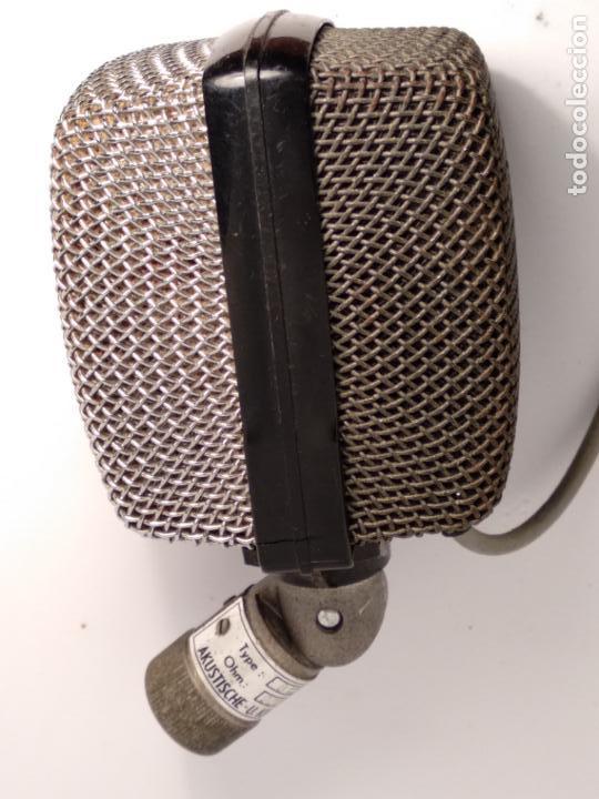 Radios antiguas: Akg D12 micrófono antiguo de estudio funcionando - Foto 7 - 142777646