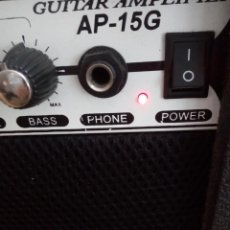 Radios antiguas: AMPLIFICADOR DE GUITARRA - ACADEMY AP-15G GUITAR AMPLIFIER. Lote 143206238
