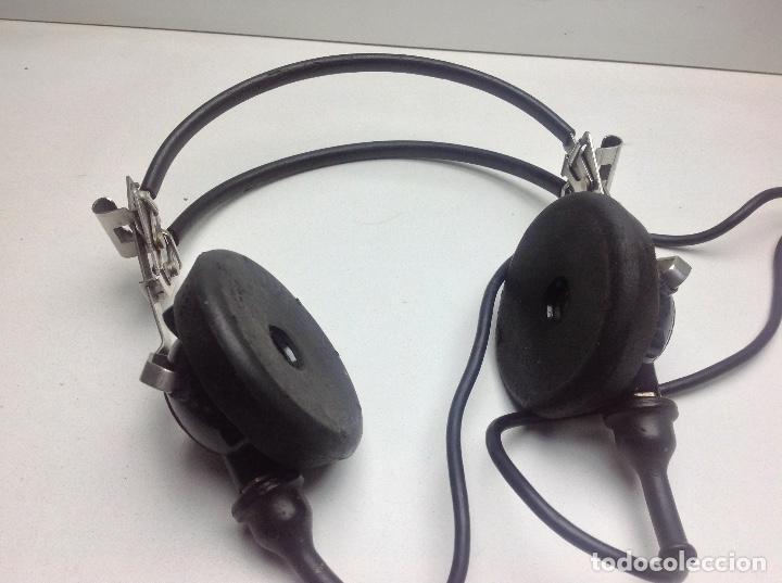 Radios antiguas: ANTIGUO MICRO Y AURICULARES DE RADIO - MARCA SEA - MIRAR FOTOS ADICIONALES - Foto 5 - 143860402