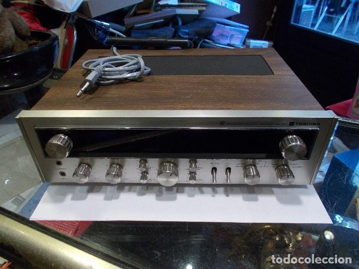 EQUIPO AMPLIFICADOR TOSHIBA SA-304 4 CHANNEL STEREO / FUNCIONANDO (G) (Radios, Gramófonos, Grabadoras y Otros - Amplificadores y Micrófonos de Válvulas)