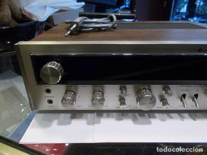 Radios antiguas: EQUIPO AMPLIFICADOR TOSHIBA SA-304 4 CHANNEL STEREO / FUNCIONANDO (G) - Foto 2 - 144104130