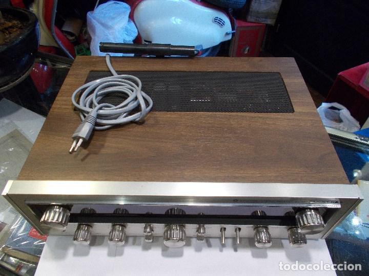 Radios antiguas: EQUIPO AMPLIFICADOR TOSHIBA SA-304 4 CHANNEL STEREO / FUNCIONANDO (G) - Foto 5 - 144104130