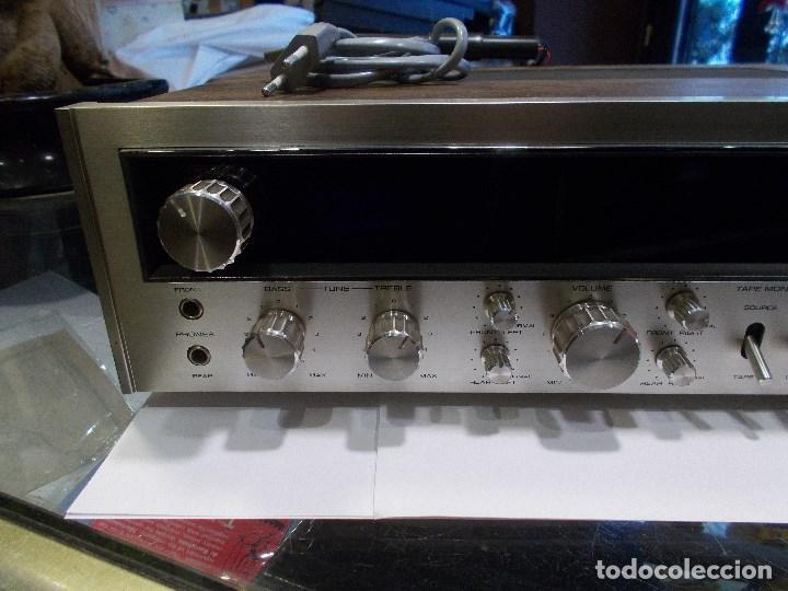 Radios antiguas: EQUIPO AMPLIFICADOR TOSHIBA SA-304 4 CHANNEL STEREO / FUNCIONANDO (G) - Foto 6 - 144104130