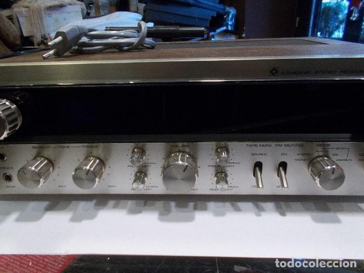 Radios antiguas: EQUIPO AMPLIFICADOR TOSHIBA SA-304 4 CHANNEL STEREO / FUNCIONANDO (G) - Foto 7 - 144104130