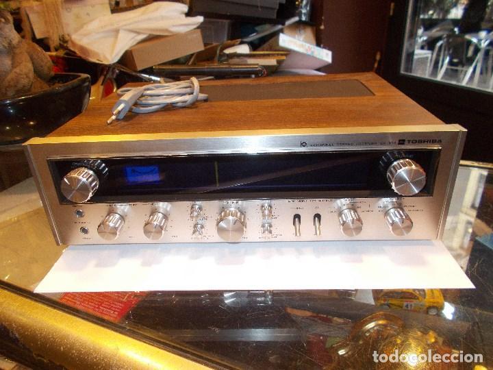 Radios antiguas: EQUIPO AMPLIFICADOR TOSHIBA SA-304 4 CHANNEL STEREO / FUNCIONANDO (G) - Foto 9 - 144104130