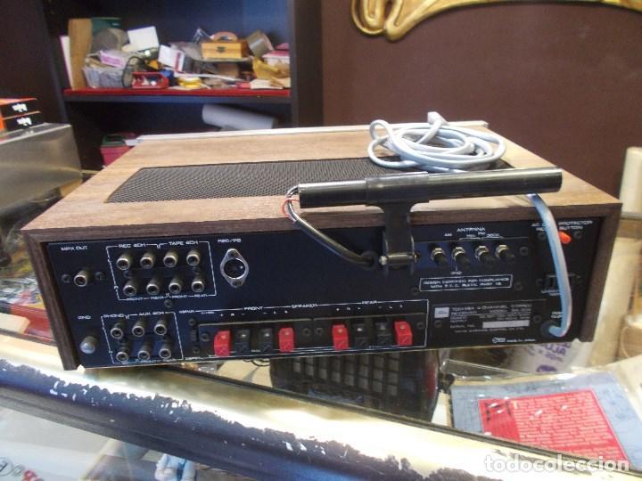 Radios antiguas: EQUIPO AMPLIFICADOR TOSHIBA SA-304 4 CHANNEL STEREO / FUNCIONANDO (G) - Foto 10 - 144104130