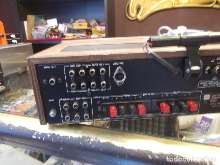 Radios antiguas: EQUIPO AMPLIFICADOR TOSHIBA SA-304 4 CHANNEL STEREO / FUNCIONANDO (G) - Foto 11 - 144104130