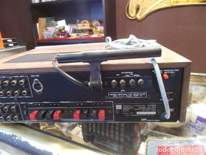 Radios antiguas: EQUIPO AMPLIFICADOR TOSHIBA SA-304 4 CHANNEL STEREO / FUNCIONANDO (G) - Foto 12 - 144104130