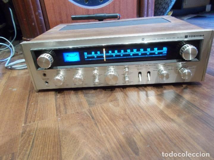 Radios antiguas: EQUIPO AMPLIFICADOR TOSHIBA SA-304 4 CHANNEL STEREO / FUNCIONANDO (G) - Foto 13 - 144104130