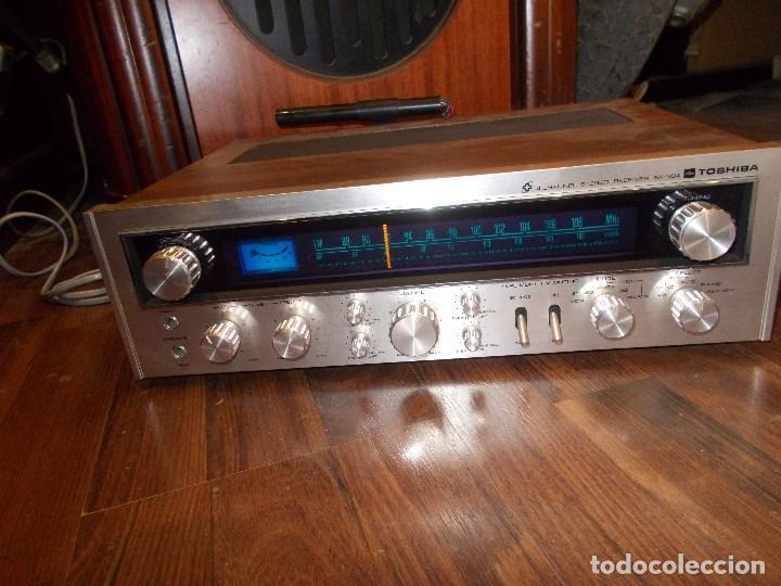 Radios antiguas: EQUIPO AMPLIFICADOR TOSHIBA SA-304 4 CHANNEL STEREO / FUNCIONANDO (G) - Foto 14 - 144104130