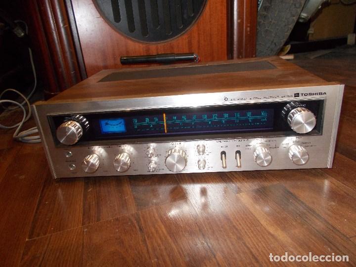 Radios antiguas: EQUIPO AMPLIFICADOR TOSHIBA SA-304 4 CHANNEL STEREO / FUNCIONANDO (G) - Foto 15 - 144104130