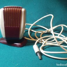 Radios antiguas: MICROFONO DE SOBREMESA - BAQUELITA . Lote 144143850