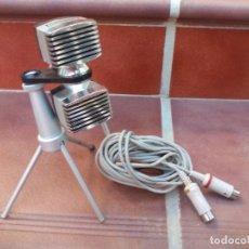 Radios antiguas: MICROFONO ESTEREO GRUNDIG GDSM 330. FABRICACIÓN ALEMANA. AÑO 1966. Lote 144218354