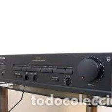 Radios antiguas: PHILIPS FA630 AMPLIFICADOR CON CORRECTOR PREVIO DE PLATOS. PERFECTO ESTADO. GENUINO, HECHO EN JAPÓN. Lote 144647730