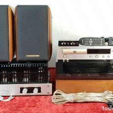 Radios antiguas: EQUIPO DE SONIDO. GARRARD 401, TUBEAMP TAC 88, MARANTZ Y SONUS FABER. SIGLO XX.. Lote 145704846