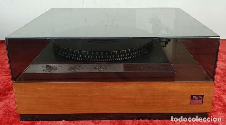 Radios antiguas: EQUIPO DE SONIDO. GARRARD 401, TUBEAMP TAC 88, MARANTZ Y SONUS FABER. SIGLO XX. - Foto 12 - 145704846