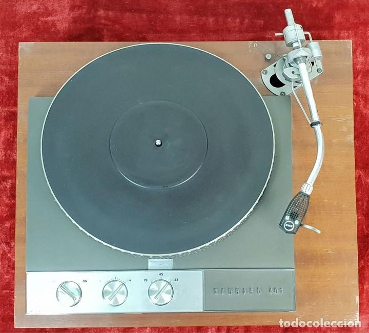 Radios antiguas: EQUIPO DE SONIDO. GARRARD 401, TUBEAMP TAC 88, MARANTZ Y SONUS FABER. SIGLO XX. - Foto 15 - 145704846