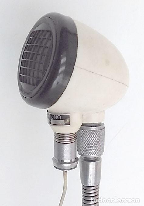 Radios antiguas: MICRÓFONO ANTIGUO HECHO EN FRANCIA - Foto 4 - 146078358