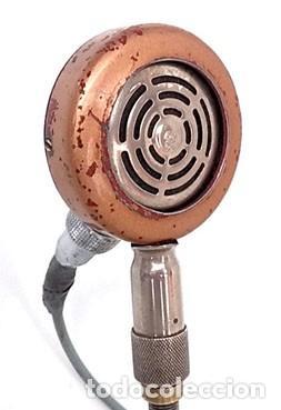 Radios antiguas: ANTIGUO Y ORIGINAL MICRÓFONO - Foto 5 - 146079838