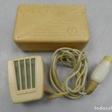 Radios antiguas: ANTIGUO MICRÓFONO TESLA SOBREMESA DE RADIO CAJA ORIGINAL. Lote 146180154
