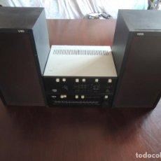 Radios antiguas: AMPLIFICADOR VIETA UNO CON SINTONIZADOR RADIO Y ALTAVOCES VIETA UNO ORIGINAL - 80'S. Lote 148480137