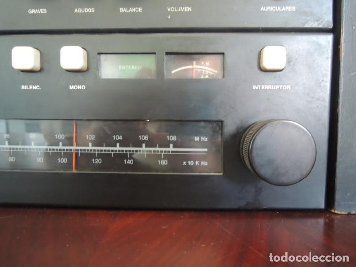 Radios antiguas: AMPLIFICADOR VIETA UNO CON SINTONIZADOR RADIO Y ALTAVOCES VIETA UNO ORIGINAL - 80's - Foto 8 - 148480137