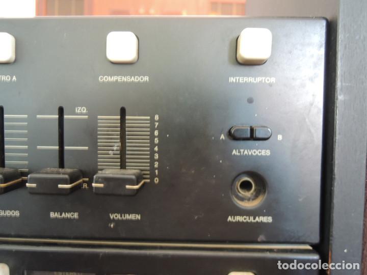Radios antiguas: AMPLIFICADOR VIETA UNO CON SINTONIZADOR RADIO Y ALTAVOCES VIETA UNO ORIGINAL - 80's - Foto 10 - 148480137