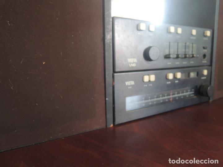 Radios antiguas: AMPLIFICADOR VIETA UNO CON SINTONIZADOR RADIO Y ALTAVOCES VIETA UNO ORIGINAL - 80's - Foto 11 - 148480137