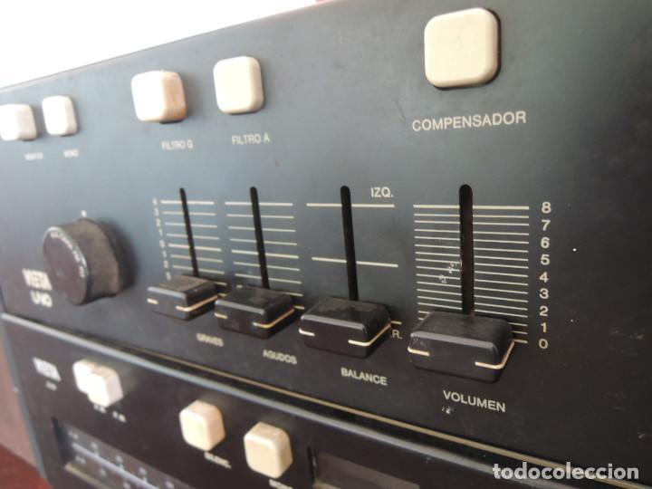 Radios antiguas: AMPLIFICADOR VIETA UNO CON SINTONIZADOR RADIO Y ALTAVOCES VIETA UNO ORIGINAL - 80's - Foto 14 - 148480137