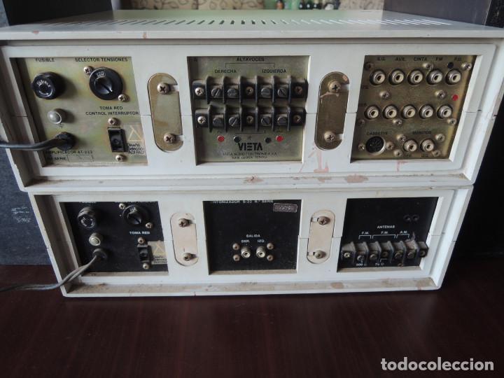 Radios antiguas: AMPLIFICADOR VIETA UNO CON SINTONIZADOR RADIO Y ALTAVOCES VIETA UNO ORIGINAL - 80's - Foto 24 - 148480137