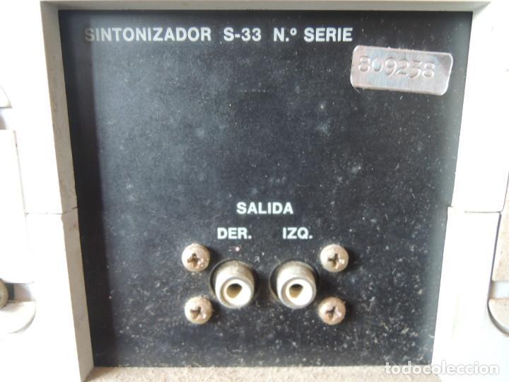 Radios antiguas: AMPLIFICADOR VIETA UNO CON SINTONIZADOR RADIO Y ALTAVOCES VIETA UNO ORIGINAL - 80's - Foto 25 - 148480137
