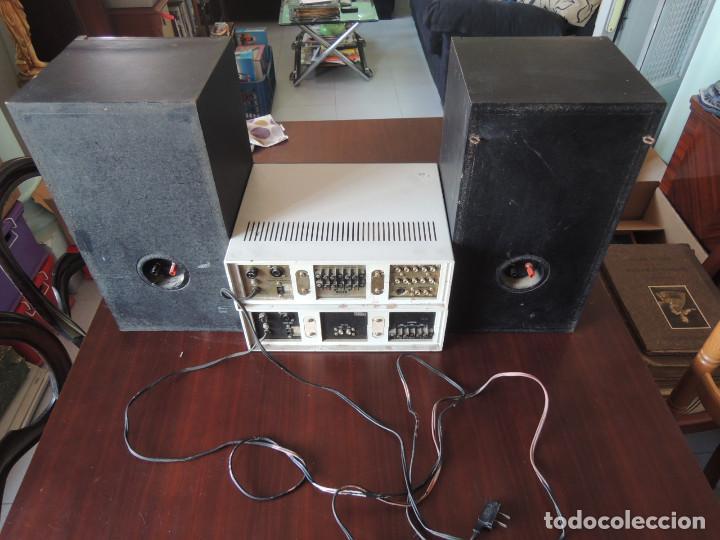 Radios antiguas: AMPLIFICADOR VIETA UNO CON SINTONIZADOR RADIO Y ALTAVOCES VIETA UNO ORIGINAL - 80's - Foto 36 - 148480137