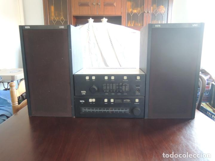 Radios antiguas: AMPLIFICADOR VIETA UNO CON SINTONIZADOR RADIO Y ALTAVOCES VIETA UNO ORIGINAL - 80's - Foto 60 - 148480137