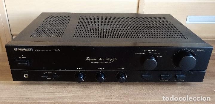 AMPLIFICADOR INTEGRADO PIONEER A-229 HI-FI CON PHONO EXCELENTE (Radios, Gramófonos, Grabadoras y Otros - Amplificadores y Micrófonos de Válvulas)