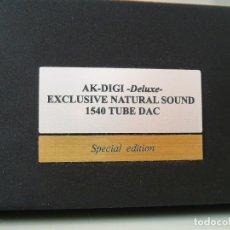 Radios antiguas: DAC VÁLVULAS AK-DIGI LAB. PROFESIONAL EXCLUSIVO.. Lote 146407366