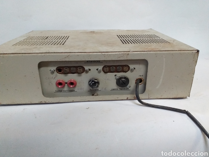 Radios antiguas: Antiguo amplificador stereo transistor - Foto 5 - 149708862