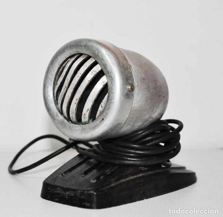 MICRÓFONO DE SOBREMESA. DE FABRICACIÓN SOVIÉTICA .IMPRESA -ROJO OKTYABR 1959A .ODESSA.URSS (Radios, Gramófonos, Grabadoras y Otros - Amplificadores y Micrófonos de Válvulas)