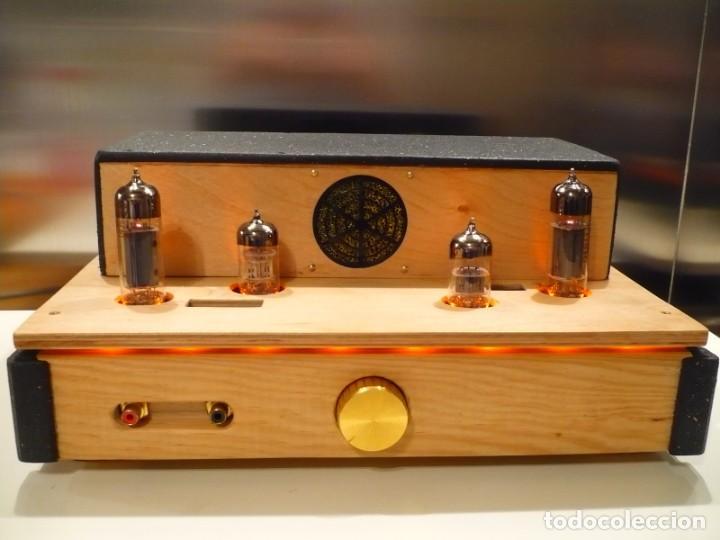 AMPLIFICADOR VÁLVULA SINGLE ENDED. AUDIÓFILO HI-END. AUDIO MUESTRA EN EL ANUNCIO (Radios, Gramófonos, Grabadoras y Otros - Amplificadores y Micrófonos de Válvulas)