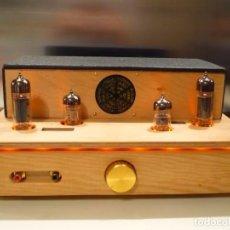 Radios antiguas: AMPLIFICADOR VÁLVULA SINGLE ENDED. AUDIÓFILO HI-END. AUDIO MUESTRA EN EL ANUNCIO. Lote 150026582