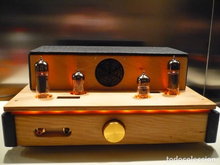 Radios antiguas: AMPLIFICADOR VÁLVULA SINGLE ENDED. AUDIÓFILO Hi-End. AUDIO MUESTRA EN EL ANUNCIO - Foto 2 - 150026582