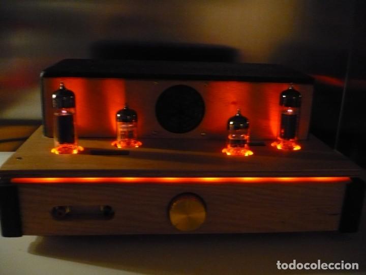 Radios antiguas: AMPLIFICADOR VÁLVULA SINGLE ENDED. AUDIÓFILO Hi-End. AUDIO MUESTRA EN EL ANUNCIO - Foto 3 - 150026582
