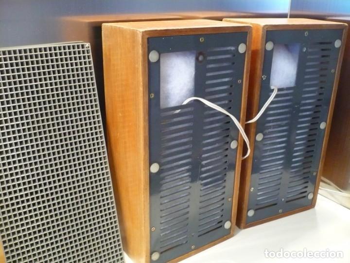 Radios antiguas: ALTAVOCES PARA VÁLVULA ALTA SENSIBILIDAD HI-FI ALEMÁN. 2 VÍAS - Foto 3 - 151028010