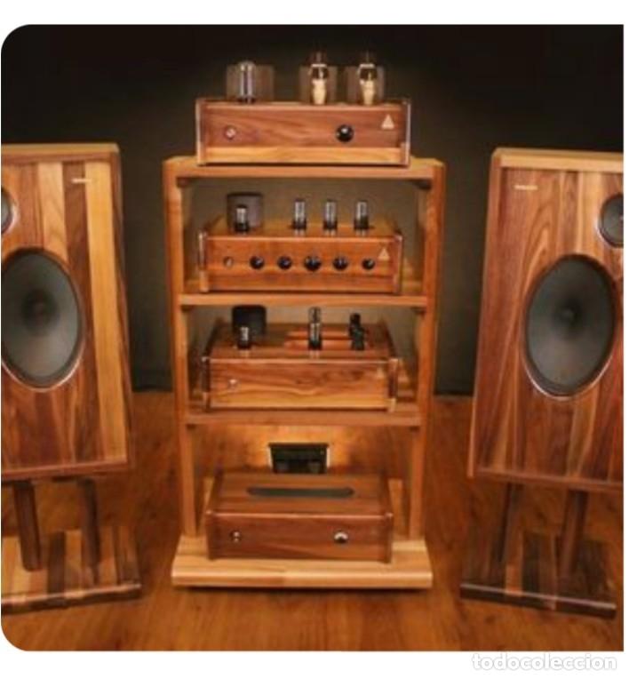 Radios antiguas: ALTAVOCES PARA VÁLVULA ALTA SENSIBILIDAD HI-FI ALEMÁN. 2 VÍAS - Foto 6 - 151028010