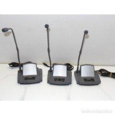 Radios antiguas: SISTEMA DE CONFERENCIAS Y CONGRESOS FCA-681 + 3 MICROFONOS. Lote 152600622